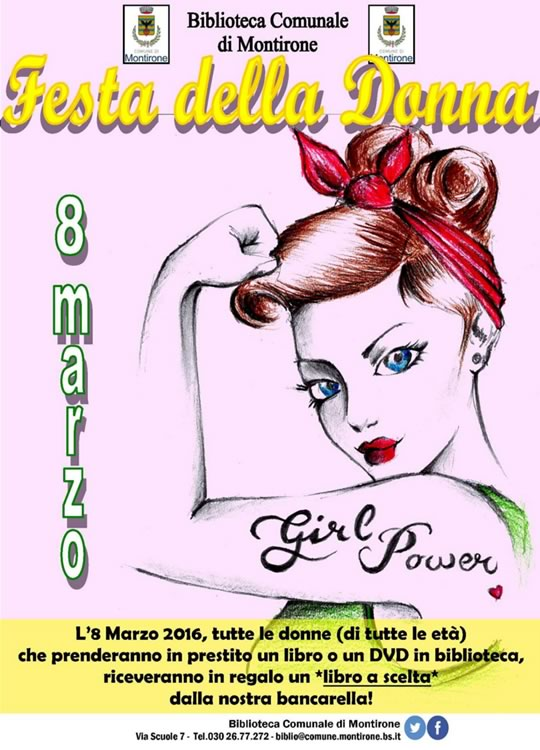 Festa della Donna in Biblioteca a Montirone