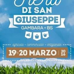 Fiera di San Giuseppe 2016 a Gambara