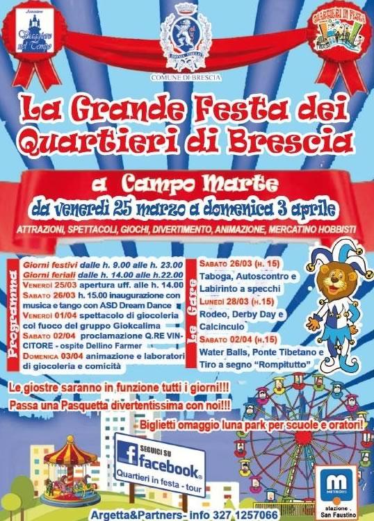 La Grande Festa dei Quartieri di Brescia