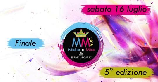Miss e Mister Terme di Boario 2016