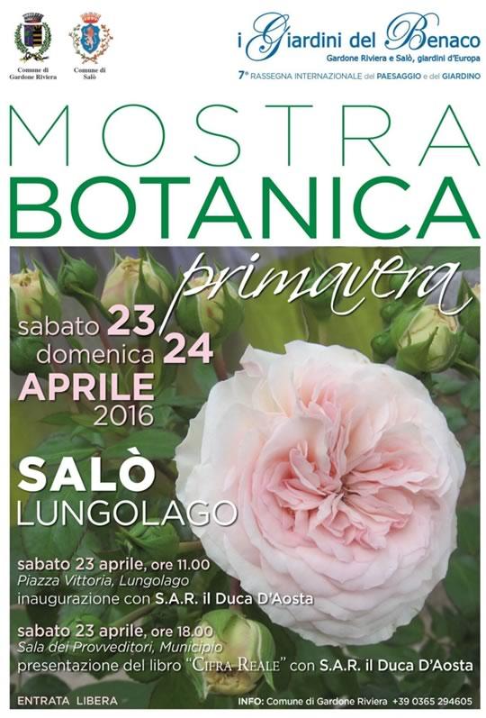 Mostra Botanica a Salò