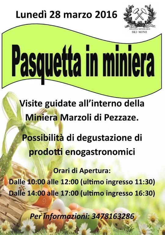 Pasquetta in Miniera a Pezzaze