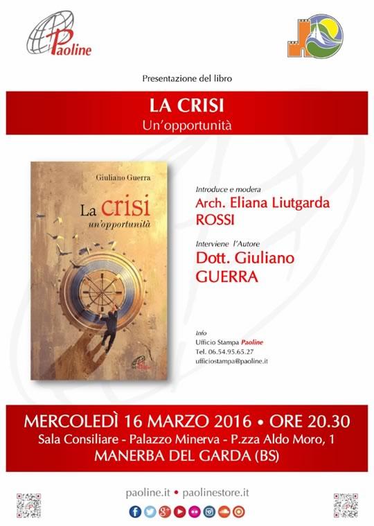 Presentazione del Libro: La crisi un'opportunità a Manerba