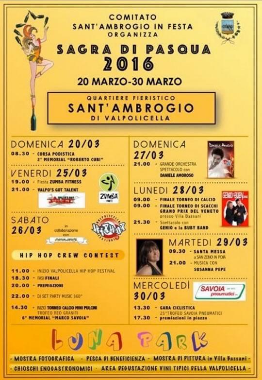Sagra di Pasqua a Sant'Ambrogio VR