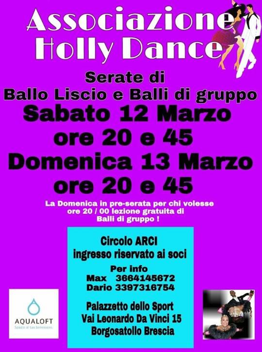 Serate Ballo Liscio e Balli di Gruppo a Borgosatollo