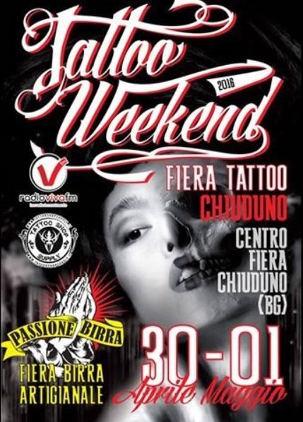 Tattoo Weekend a Chiuduno BG
