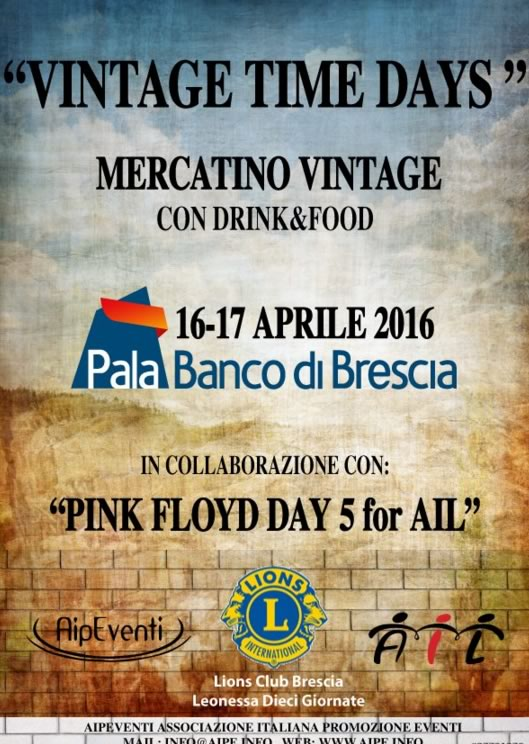 Vintage Time Days a Brescia