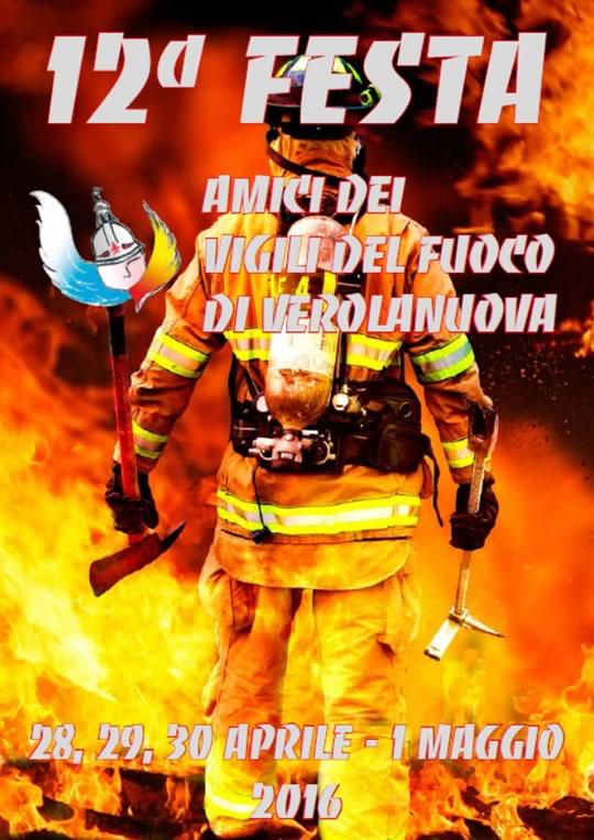 12° Festa Amici dei Vigili del Fuoco a Verolanuova