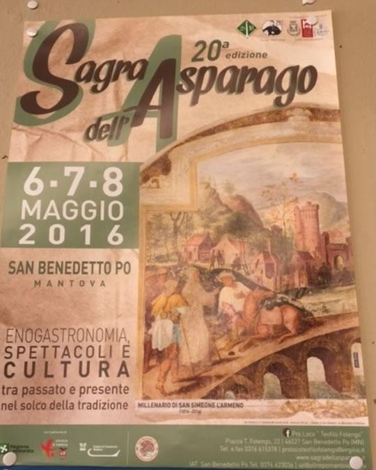 20 Sagra dell'Asparago a San Benedetto Po MN