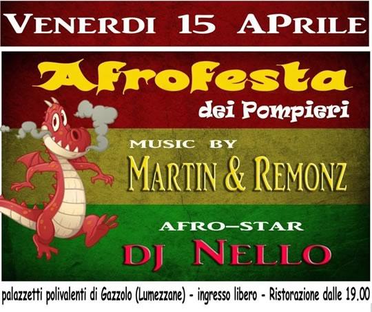 Afrofesta dei Pompieri a Lumezzane