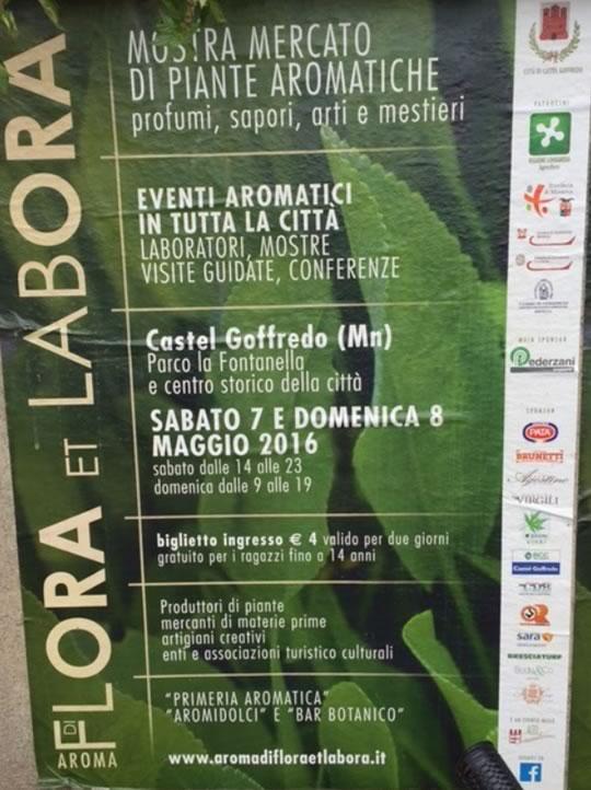 Aroma di Flora et Labora a Castel Goffredo MN
