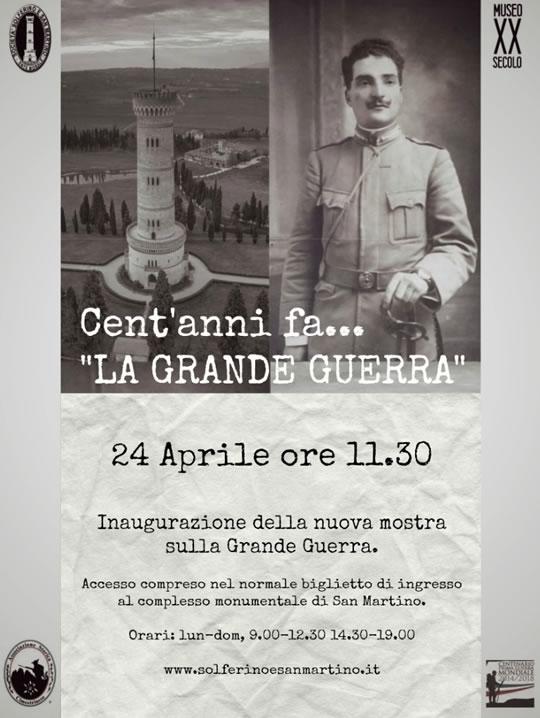 Cent'anni fa La Grande Guerra a San Martino