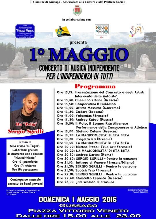 Concerto 1 Maggio a Gussago