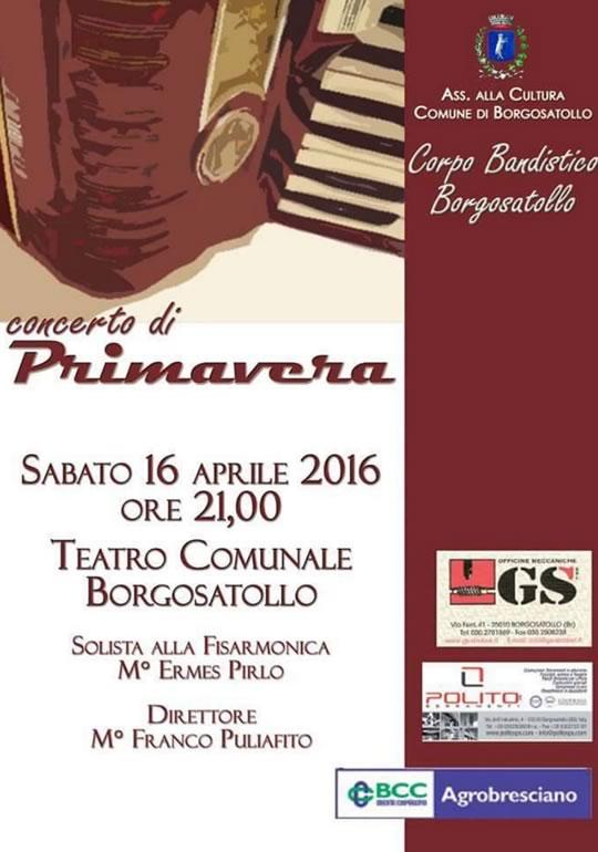 Concerto di Primavera a Borgosatollo
