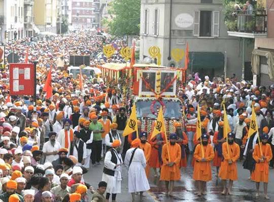 Festa della Comunità Sikh a Brescia