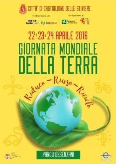Giornata Mondiale della Terra a Castiglione delle Stiviere MN