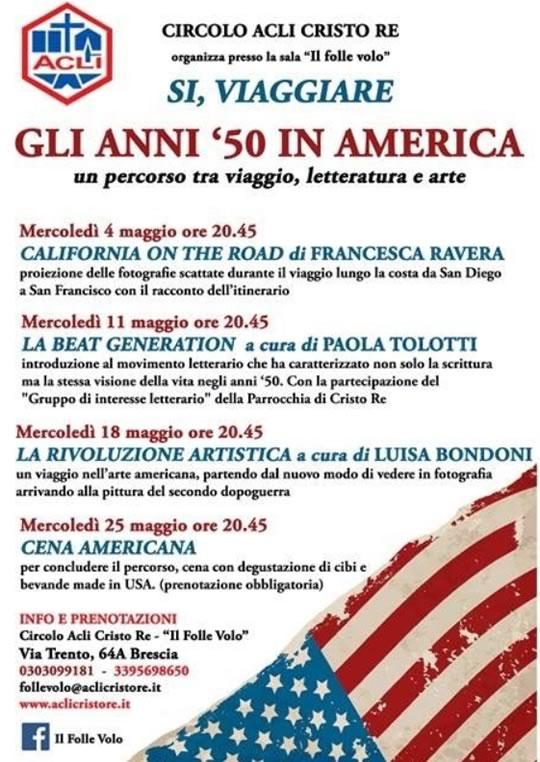Gli Anni '50 in America a Brescia