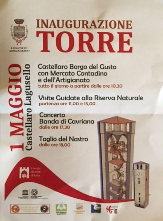 Inaugurazione Torre a Castellaro Lagusello MN