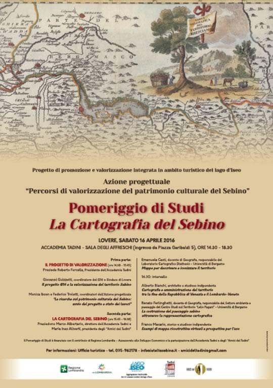 La Cartografia del Sebino a Lovere