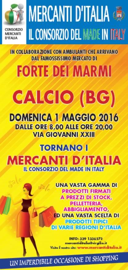 Mercanti d'Italia a Calcio (BG)