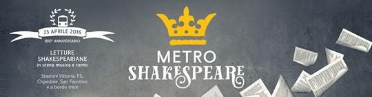Metro Shakespeare a Brescia