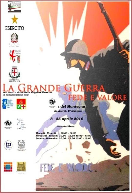 Mostra La Grande Guerra Fede e Valore a Mantova