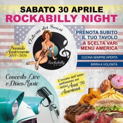 Rockabilly Night a Scarpizzolo