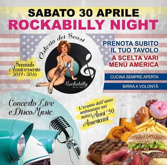 Rockabilly Night a Scarpizzolo