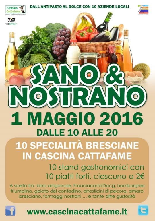 Sano & Nostrano Specialità Bresciane in Cascina Cattafame