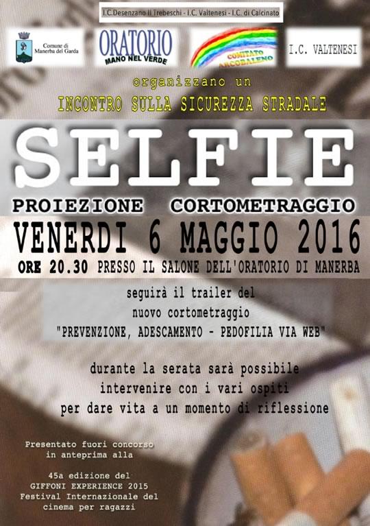 Selfie Incontro sulla Sicurezza Stradale a Manerba del Garda