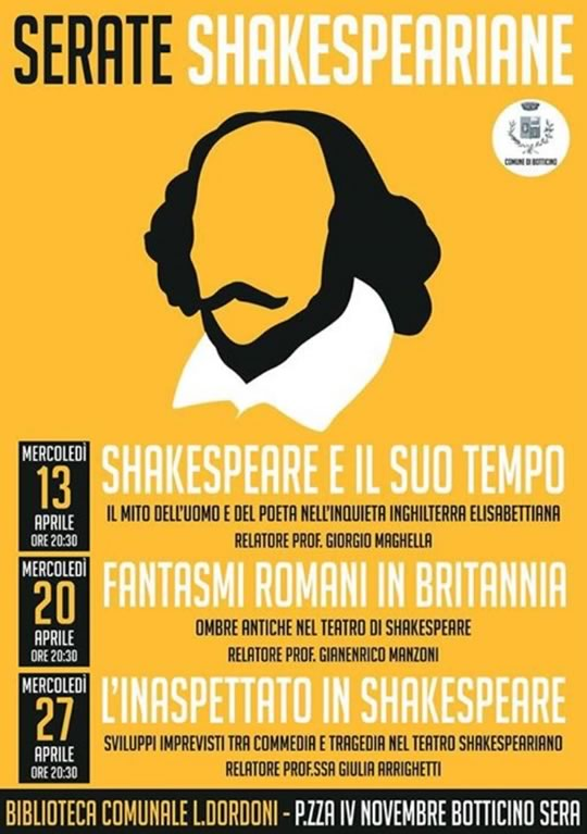 Serate Shakespeariane a Botticino