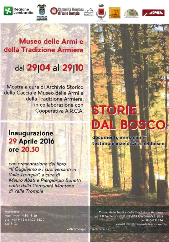 Storie dal Bosco a Gardone VT