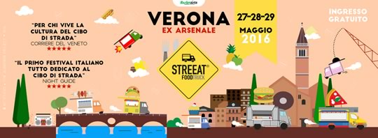 Streeat Food Truck a Verona