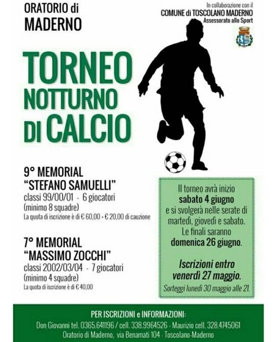 Torneo Notturno di Calcio a Maderno