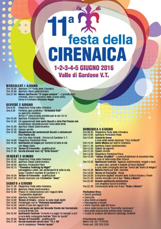 11 Festa della Cirenaica a Gardone VT