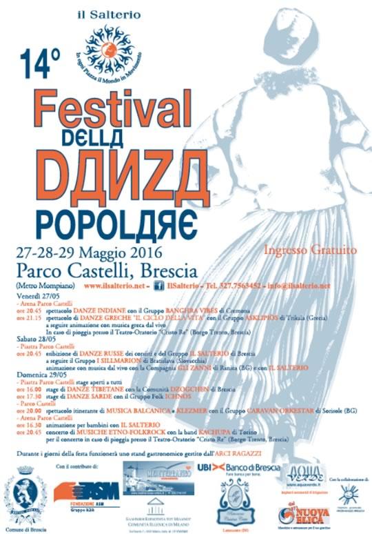 14 Festival della Danza Popolare a Brescia
