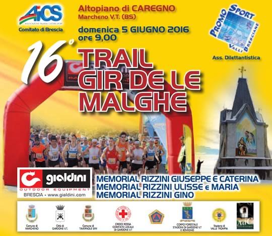 16 Trail Gir de le Malghe a Marcheno