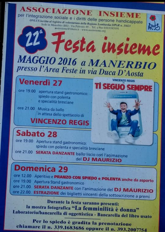 22 Festa Insieme a Manerbio