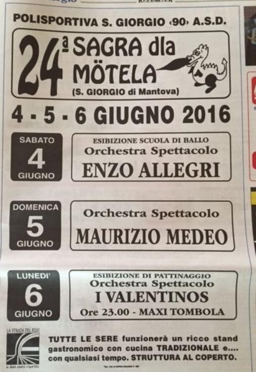 24 Sagra della Motela a S. Giorgio Mantova