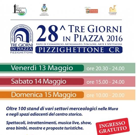 28 Tre Giorni in Piazza a Pizzighettone CR