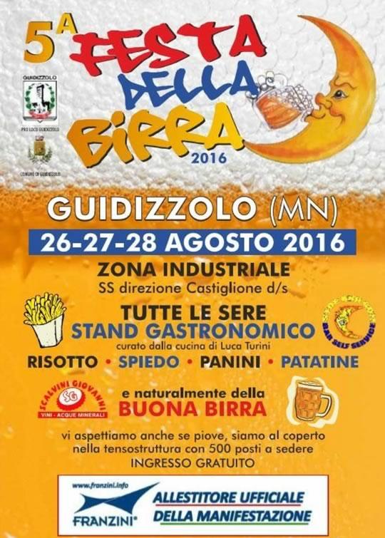5 Festa della Birra a Guidizzolo MN