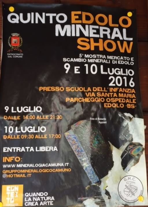 5 Mineral Show a Edolo
