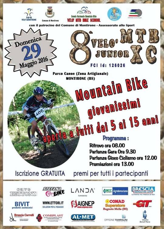 8 Velo Junior MTB XC a Montirone