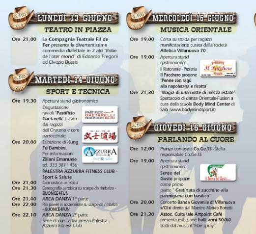 9 Country Fest a Villanuova s C