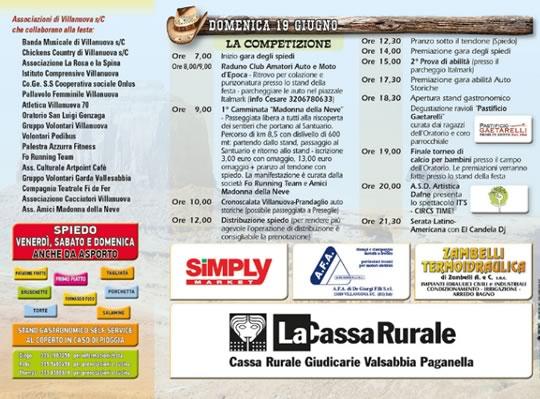 9 Country Fest a Villanuova s Clisi