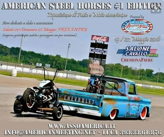 American Steel Horses a Cremona
