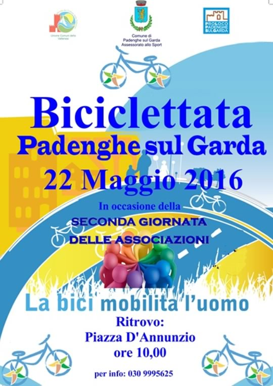 Biciclettata a Padenghe sul Garda