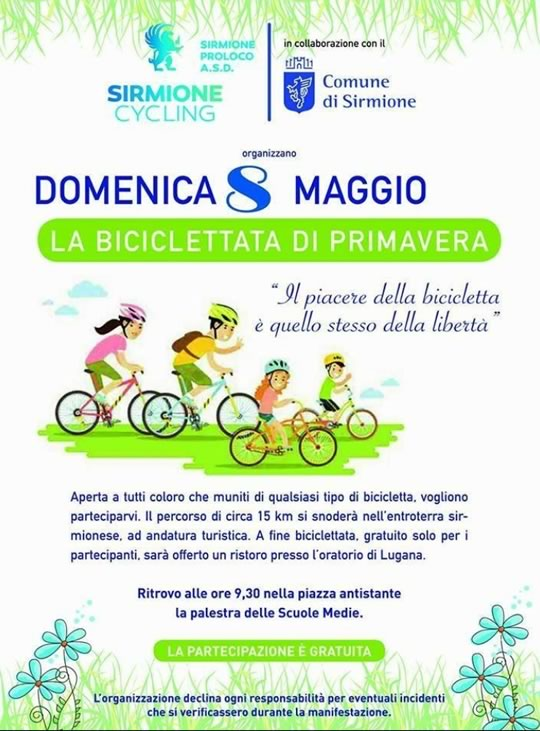 Biciclettata di Primavera a Sirmione