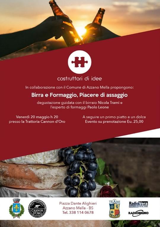Birra e Formaggio, Piacerei asseggio ad Azzano Mella
