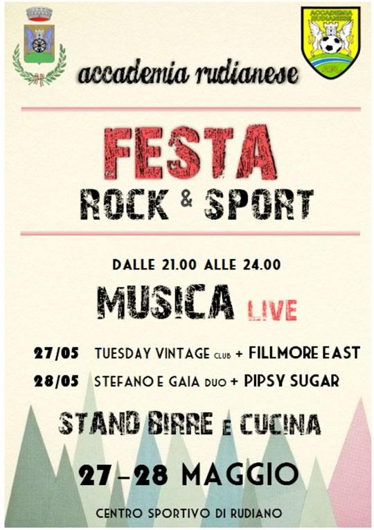 Festa Rock e Sport a Rudiano
